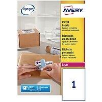 Avery L7167-40 Address Labels Laser 199.6 x 289.1mm White (40 Labels)