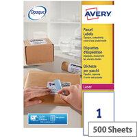 Avery L7167-500 Address Labels 199.6 x 289.1mm White (500 Labels)