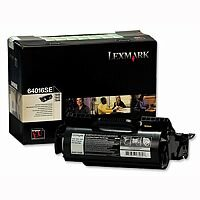 Lexmark Black Return Program Toner Cartridge 64016SE