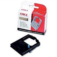 OKI 09002315 Printer Ribbon Cassette Black for 520