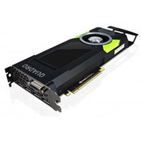 NVIDIA Quadro P5000 - Graphics card - Quadro P5000 - 16 GB GDDR5X - PCIe 3.0 x16 - DVI, 4 x DisplayPort