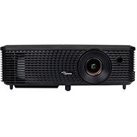 Optoma DS348 DLP 3D Multimedia Projector 3000 ANSI Lumens SVGA 800x600 Portable – Eco+ Technology, AV Mute, Energy Saving, 3D Ready, Optional Wireless Adapter, Auto Power Off & Lightweight (95.71P02GC1E)