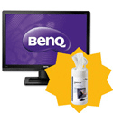 BenQ LED Business Monitor Widescreen 22inch Ref BL2201PT [FREE Cleaning Wipes] Jan-Mar 2013