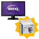 BenQ LED Business Monitor Widescreen 24inch Ref BL2400PT [FREE ScreencleanWipes] Jan-Mar 2013
