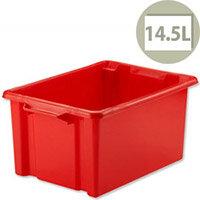 Strata Storemaster Crate Midi Red 14.5 Litres