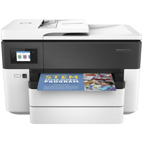 HP Officejet Pro 7730 Wide Format All-in-One Multifunction Colour Inkjet Printer