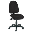 High Back Office Chair Asynchronous Seat Black Trexus