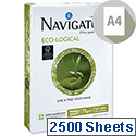 Navigator A4 Eco-logical Paper 75gsm Bright White COP075C1 5 Reams