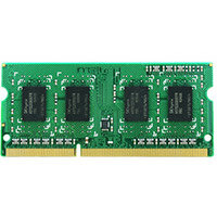 Synology - DDR3L - 4 GB - SO-DIMM 204-pin - 1866 MHz / PC3L-14900 - 1.35 V - unbuffered - non-ECC - for Disk Station DS718+