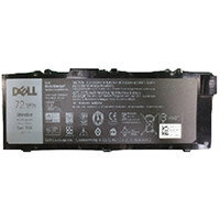 Dell Primary Battery - Laptop battery - 1 x Lithium Ion 6-cell 72 Wh - for Precision Mobile Workstation 7510, 7710