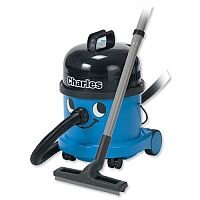 Numatic Charles Vacuum Cleaner Wet and Dry 1200W 15L Dry 9L Wet 7.1Kg W355xD355xH455mm Blue Ref A10X 446457