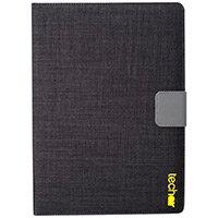 "Techair Universal Flip Cover for 10.1"" Tablet TAXUT041V3 Folio Case Black"