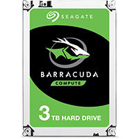 Seagate Barracuda ST3000DM007 - Hard drive - 3 TB - internal - SATA 6Gb/s - buffer: 256 MB
