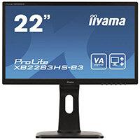 "Iiyama ProLite XB2283HS-B3 LED Computer Monitor  Full HD (1080p) 22"""