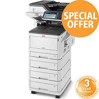 OKI MC873dnv A3 Colour Multifunction LED Laser Printer 45850625