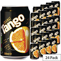 Tango Orange Soft Drink Can 330ml (Pack 24) A01097