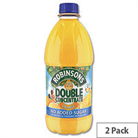 Robinsons Special R Squash No Added Sugar 4 Litres Orange A02017/A02115 Pack 2 Dilute With Water Concentrated Cordial