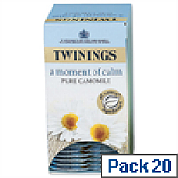 Twinings Infusion Tea Bags Camomile Pack 20