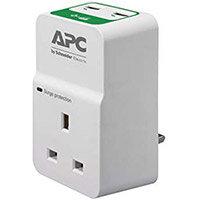 APC Essential Surgearrest PM1WU2 - Surge protector - AC 230 V - output connectors: 1 - United Kingdom