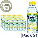 Volvic Lemon and Lime Water 500ml Bottle Pack 24
