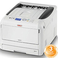 OKI C833n Colour Laser Networked Printer A3