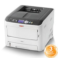 OKI C612n Colour Laser Networked Printer A4