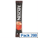 Nescafe Original Coffee Sachets Stick A00959 Pack 200