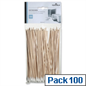 Computer Cleaning Cotton Buds Extra Long White Pack 100 Durable