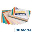 Assorted Colours A4 Multifunctional Paper Data Colours 80gsm 500 Sheets