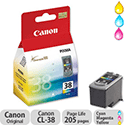 Canon CL-38 Colour Ink Cartridge CL38