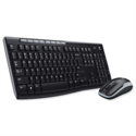 Logitech MK260 Keyboard and Mouse Desktop Set Compact Wireless Black Ref 910-002997
