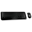 Microsoft 800 Wireless Desktop Keyboard and Optical Mouse 2.4GHz Black