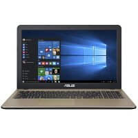 "ASUS VivoBook X540LA-DM1052T  Laptop - Core i3 5005U / 2 GHz - Win 10 Home 64-bit - 4 GB RAM - 1 TB HDD - 15.6"" 1920 x 1080 (Full HD) - HD Graphics 5500 - gold, chocolate black"