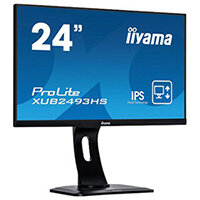 "iiyama ProLite XUB2493HS-B1 - LED Computer Monitor - 24""(23.8"" viewable) - 1920 x 1080 Full HD (1080p) - IPS - 250 cd/m"