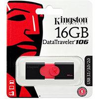 Kingston DataTraveler 106 - USB flash drive - 16 GB