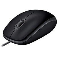 Logitech B110 Silent - wired computer mouse - USB