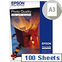 Epson  A3+ Photo Quality Inkjet Paper Matt 104gsm 100 Sheets S041069