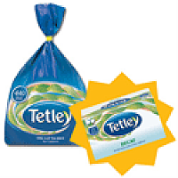 Tetley Tea Bags High Quality 1 Cup Pack 440 (2x FREE Decaffeinated Tea Bags) Apr-Jun 2013