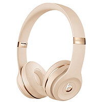 Beats Solo3 Wireless - Satin Gold - headphones with mic