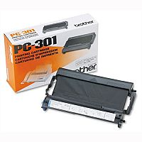Brother PC301 Fax Ribbon Black for 930