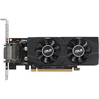 ASUS GTX1050TI-O4G-LP-BRK - OC Edition - graphics card - GF GTX 1050 Ti - 4 GB