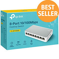 TP-Link TL-SF1008D - v11 - switch - 8 ports - unmanaged