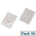 Durable Pocketfix® Self Adhesive Top Opening A4 8295 Pack 10