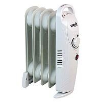 500W Baby 6inch Oil-Filled Radiator White CRHOF320/H
