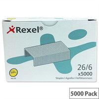 Rexel 56 Staples 6mm Pack 5000