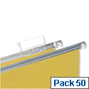 Label Tabs Clear For Suspension Files Clear Pack 50 5 Star