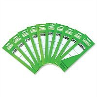 Lever Arch Replacement Spine Labels 60x191mm Pack 100 Rexel