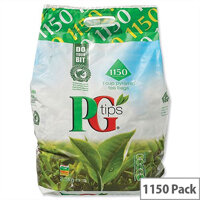 PG Tips Tea Bags Pyramid One Cup Pack 1150