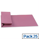 Probate Wallets Manilla Foolscap Pink Pack 25 Guildhall