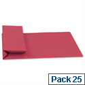 Probate Wallets Manilla Foolscap Red Pack 25 Guildhall